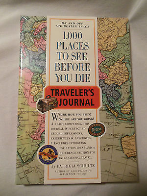Writing Journal Traveler's Journal Vacation Diary Places to See Book NEW