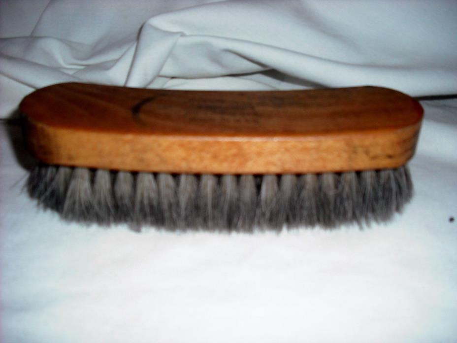 ALLEN EDMONDS 100% Horse Hair shoe brush MADE IN U.S.A.