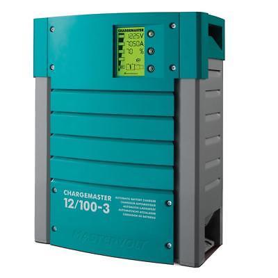 Mastervolt ChargeMaster 100 Amp Battery Charger-3 Bank, 12V - 44011000
