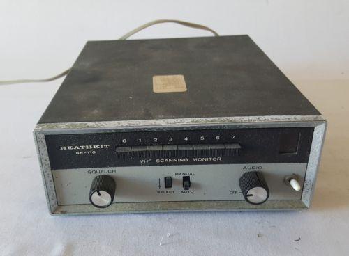 Heathkit GR-110 Scanner receiver vintage crystal ham radio A