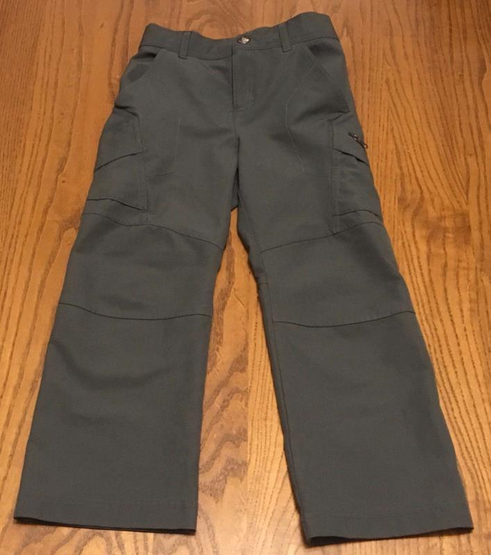 XXsmall 4-5T toddler Gray Youth Columbia Hiking Pants XXS omni shield