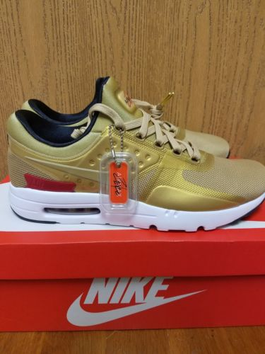 Gold Nike Air Max Zero QS