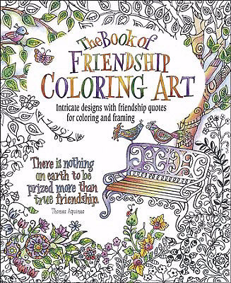 Book Of Friendship Coloring Art