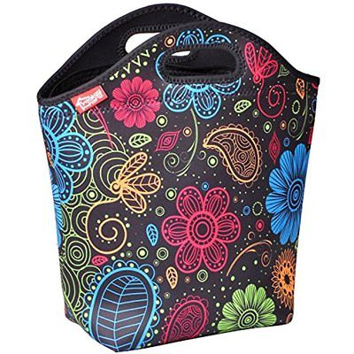 Lunch Tote Box Bag Container Storage Meal Food Travel Organizer