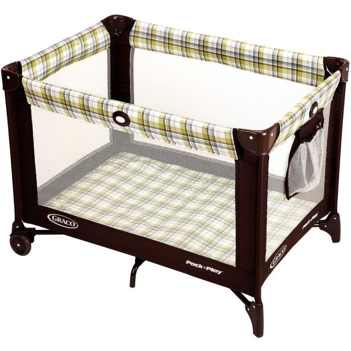 Play Pack N Playard Ashford Graco Baby Playpen Portable Travel New Crib Folding