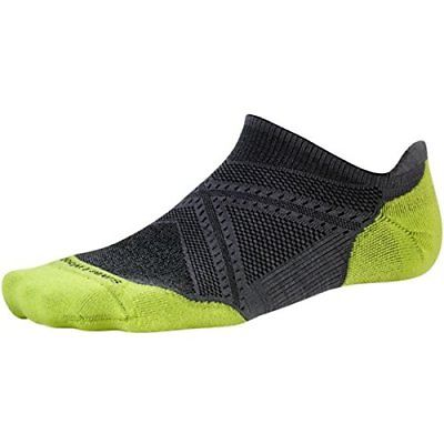 Smartwool Men's PhD Run Light Elite Micro Socks Graphite Large (B51SJ)