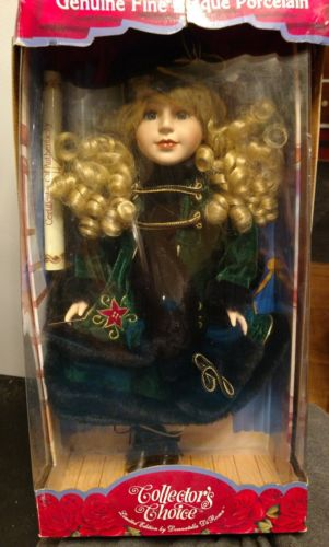 Collector's Choice Fine Bisque Porcelain Limited Edition Doll**NIB**