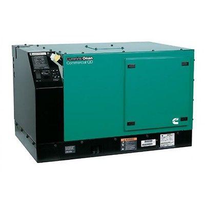 NEW Cummins 8kW Commercial QD 8000 Diesel Generator 8.0HDKAU/41934 120 Volts