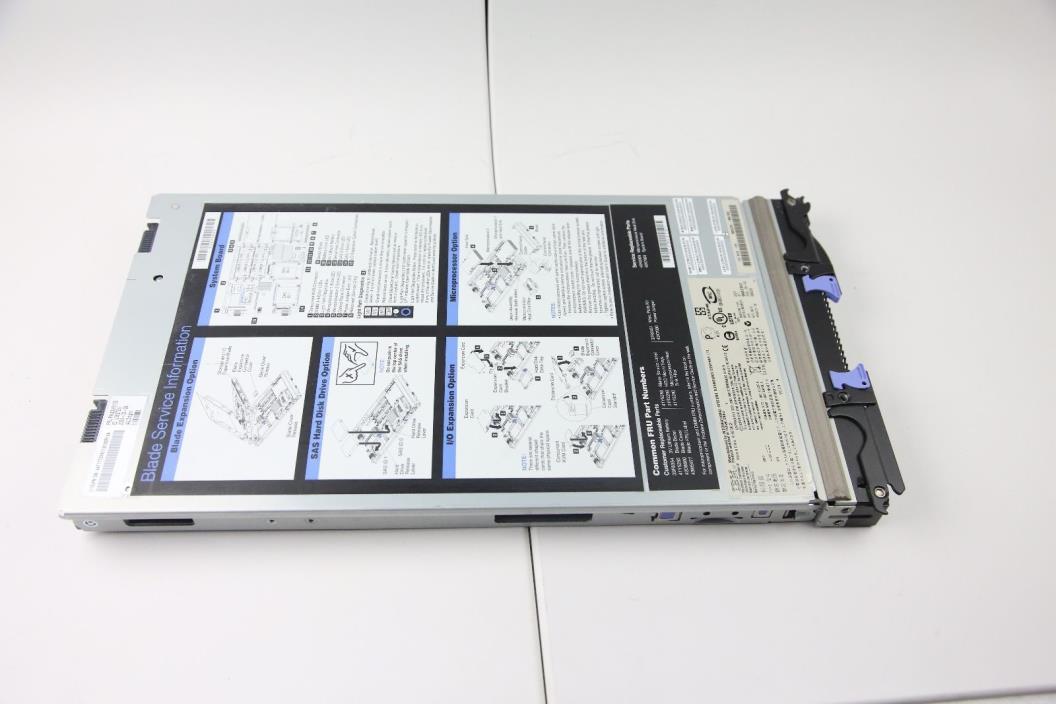 IBM Blade Model 8843-11U Series HS20