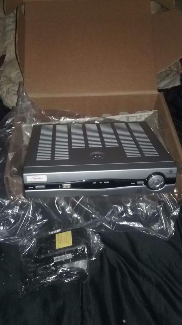 Frontier AT &T  U-Verse Motorola Receiver Model # VIP 1200/cord. New in box.