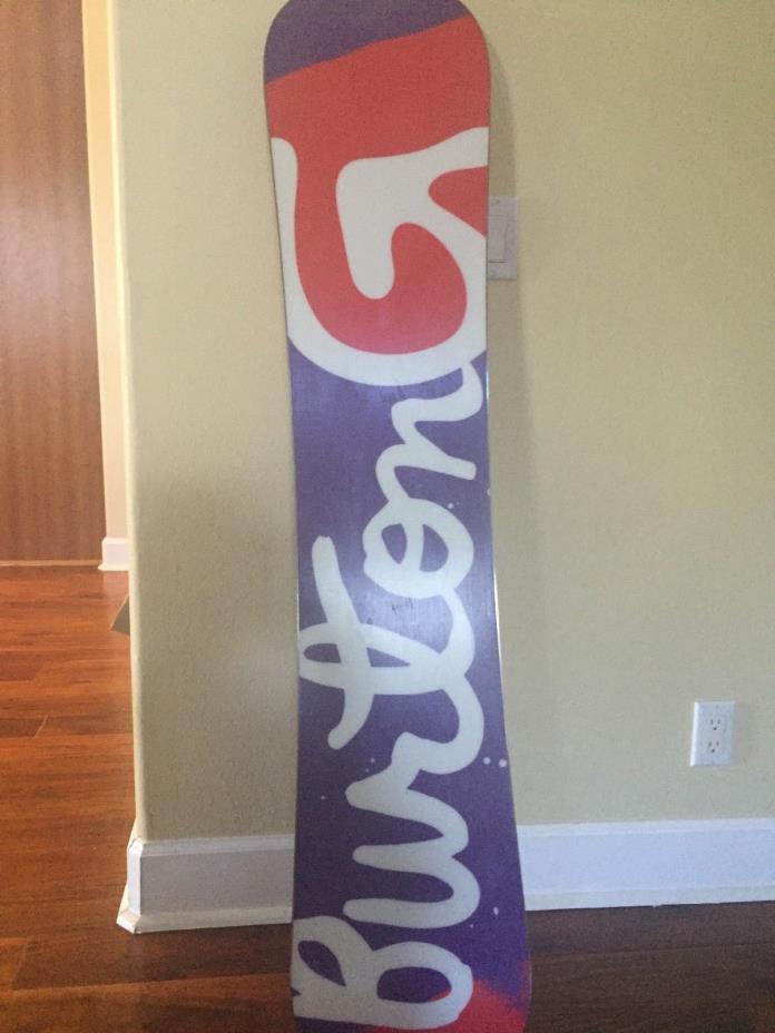 New 2017 Burton Genie ICS Womens Snowboard 147 cm
