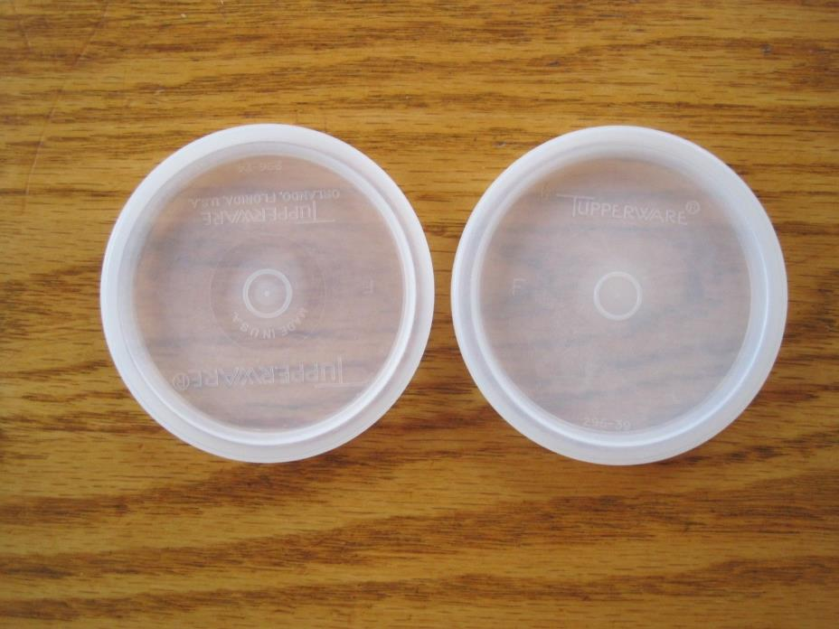 Lot Of 4 Tupperware Sheer #296