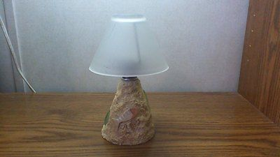 Nautical Fish Candle Lamp With Glass Shade