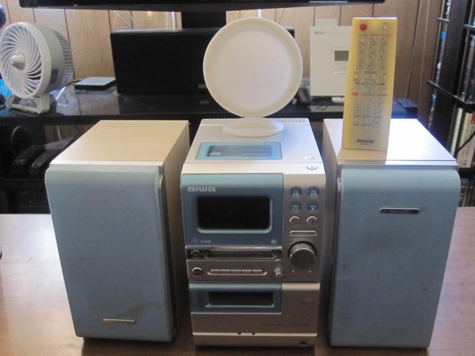 Aiwa CX-LMT22 Stereo Shelf System CD/MiniDisc/Cassette/Radio