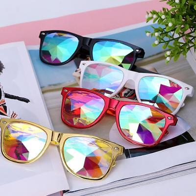 Kaleidoscope Glasses Sunglasses Diffracted Lens