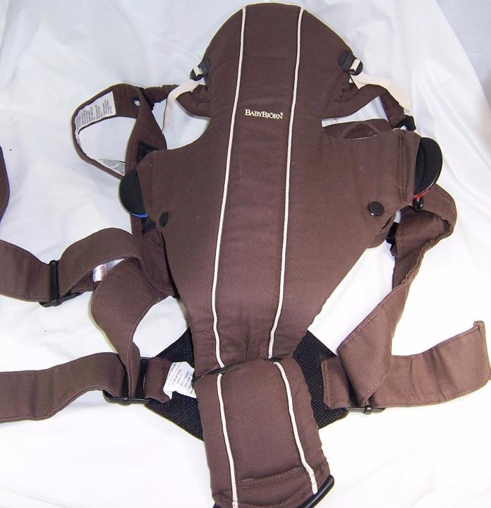Baby Bjorn Carrier Sling,Brown 8-26 lbs Infant Harness