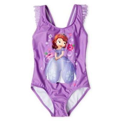 Disney Sofia the First 1 Piece Swimsuit