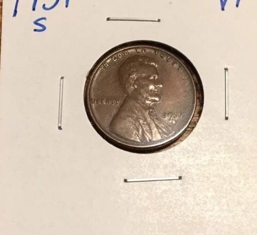 1931S Lincoln Cent