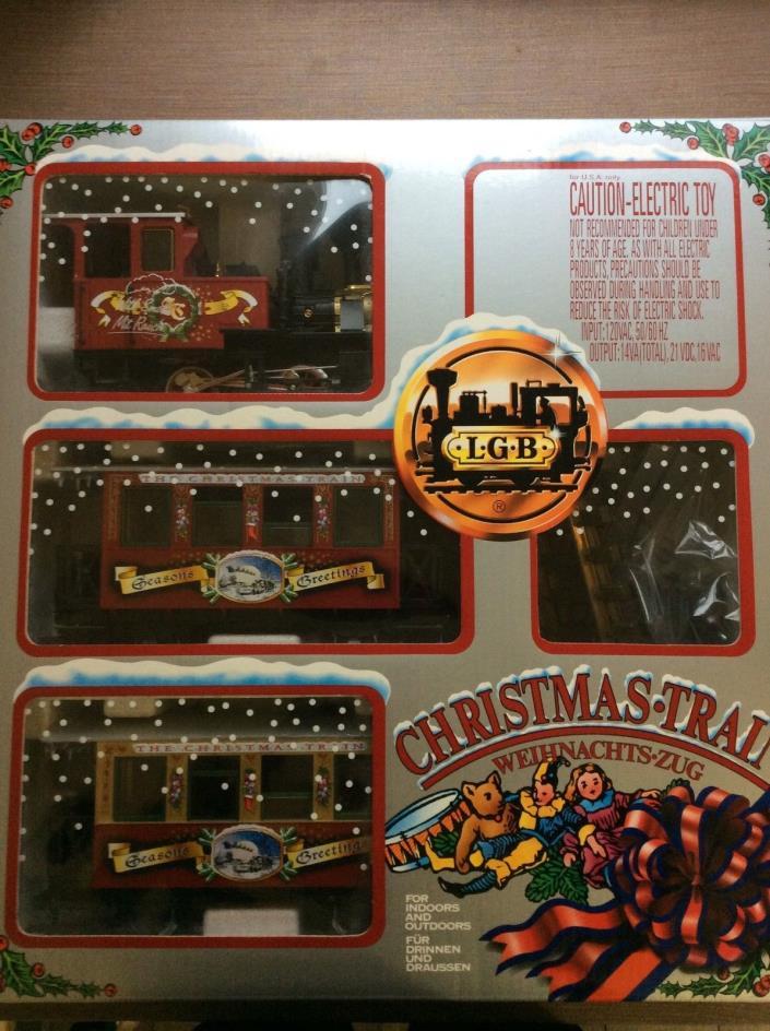 LGB Christmas Train 72534 DC 0-24V (Excellent Condition/In Original Box)