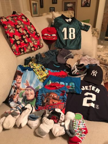 Boys Size 2T 18/24 Months Fall/Winter Clothes Pants, Shirts, Pj's, Vans & More