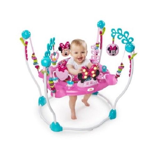 Baby Swing Jumping Seat Chair Play Game Minnie Mouse Activity Stand Infant Child