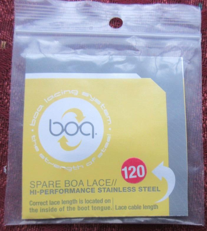 Spare BOA Lace; 120 cm; High Performance Stainless Steel