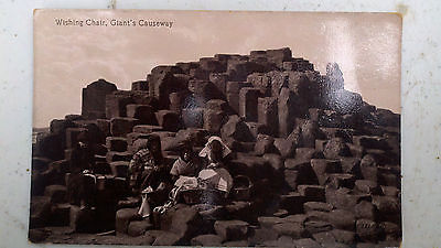 Dublin Ireland UK Wishing Chair Giants Causeway GAME OF THRONES Film Scene RPPC