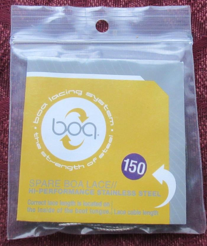 Spare BOA Lace; 150 cm; High Performance Stainless Steel