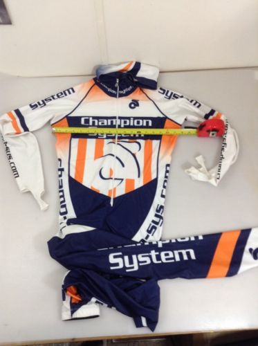 Champion System Mens Size Xl X Large Speed Skating Suit (5617-14)