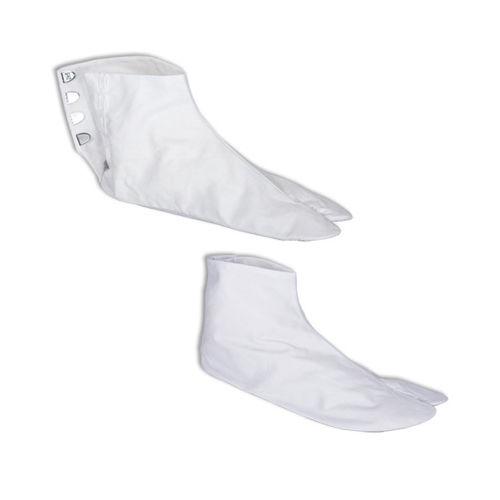 Tabi Japanese Tradition Split Toes Zori Kimono Sandal Socks White