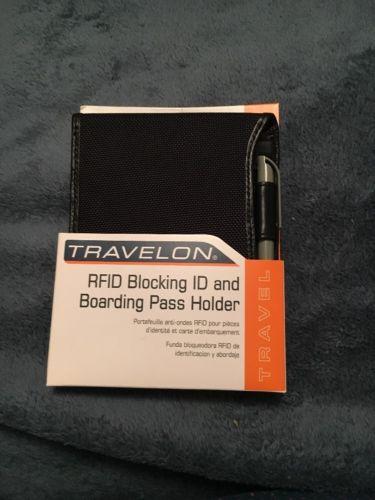Travelon RFID Blocking ID And Boarding Pass Holder brand new!
