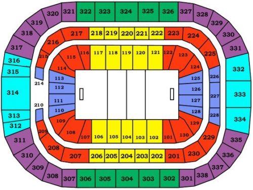 Lot of 10 Carolina Hurricanes vs Ottawa Senators Tickets 01/30/18