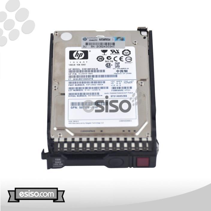 652625-001 HP 146GB 6G 15K rpm SFF 2.5