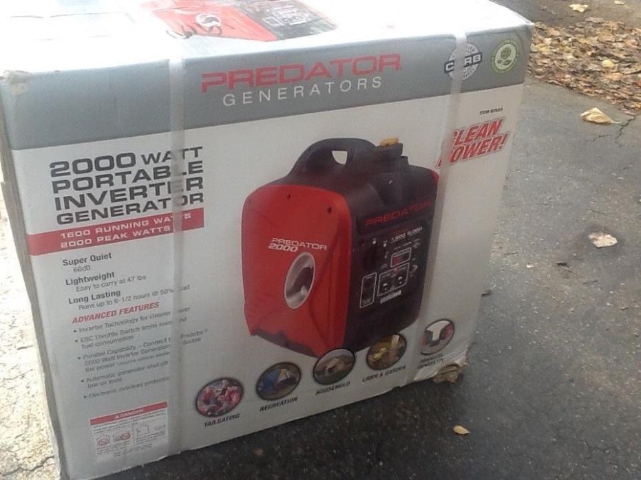 $759.99 Predator 2000 Watt Generator Inverter - WE SHIP TO PUERTO RICO!! Free