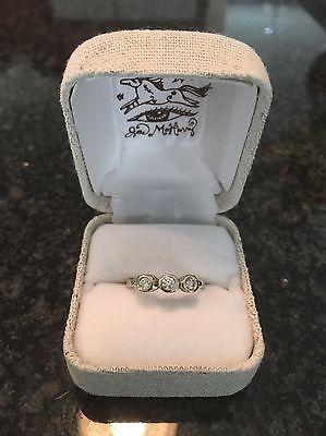 Jes MaHarry 14K White Gold .30 TCW Diamond Marrakesh Trinity Ring