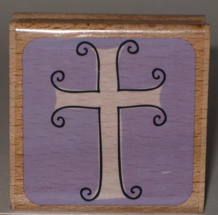 Katie & Co. Rubber Stamp Christian Cross