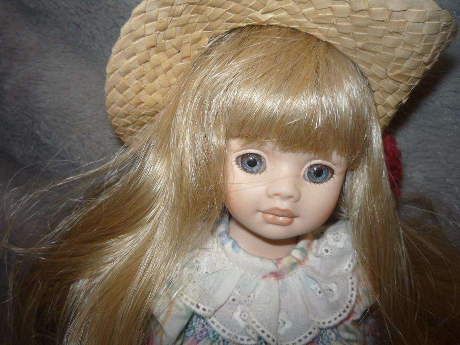 Pauline's Limited Edition Porcelain Doll,