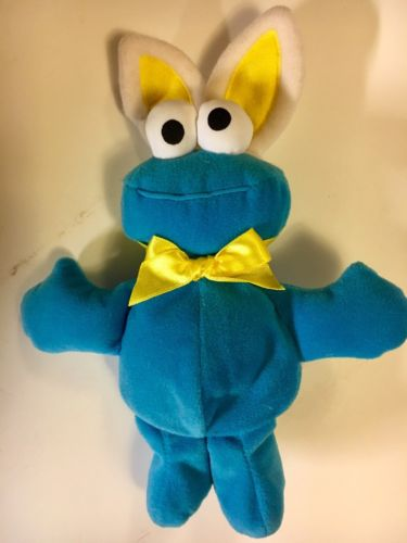 Cookie Monster Easter Bunny Plush Bean Bag by Tyco