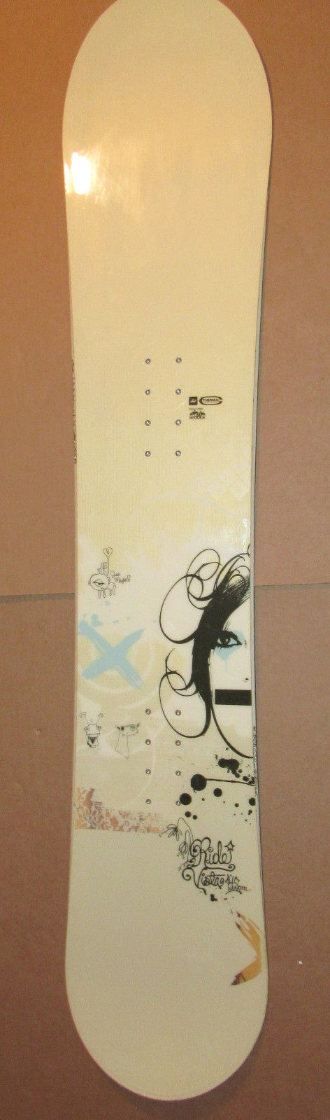 Ride VISTA Snowboard 145 cm, Snow Sport, Winter Sport Board, Skiing