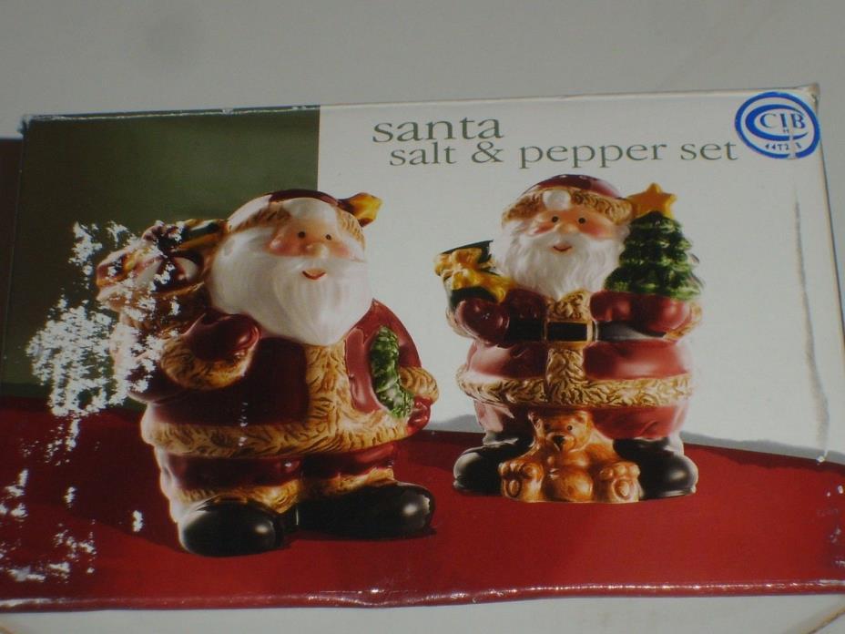 Vintage Santa Claus Salt & Pepper Shakers