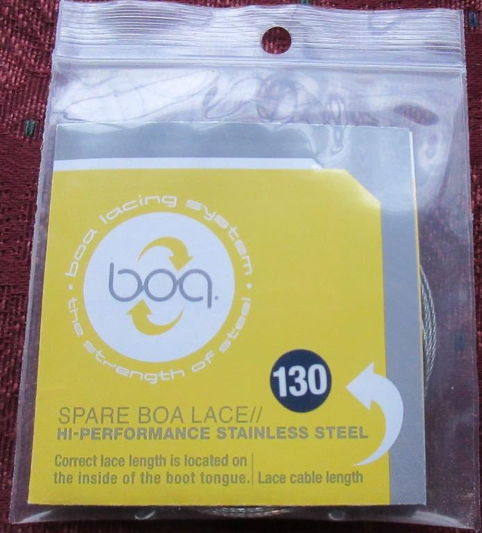 Spare BOA Lace; 130 cm; High Performance Stainless Steel