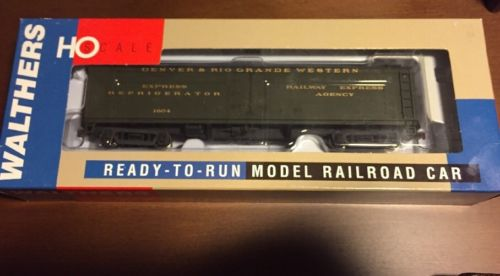 HO Walthers # 932-5479 RTR GACX Wood Reefer w GSC Truck D&RGW RR # 1604