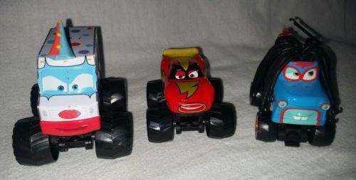 Disney Cars 3 Mater Tales Monster Trucks Set