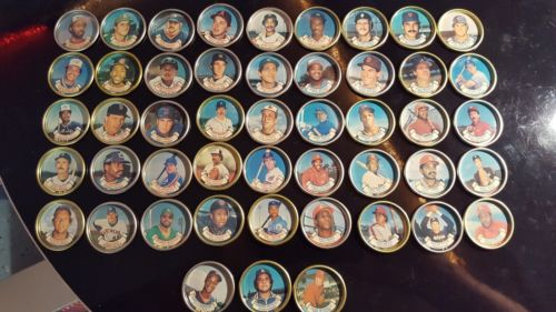 1987 Topps Baseball Coins Complete Set of 48 Coins - HOF and ALL STAR Players