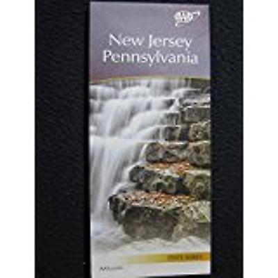 AAA New Jersey Pennsylvania State Series 2014 Map