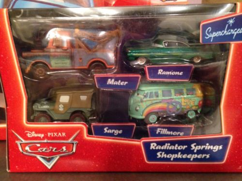 Cars Radiator Springs Shop Keepers 4 Pack