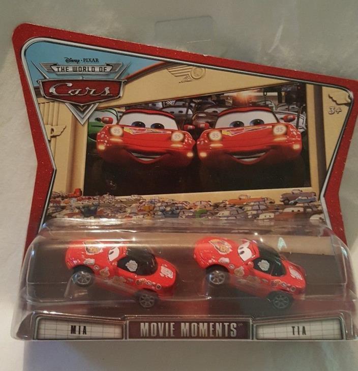 CARS Disney Pixar Cars Toy MIA & TIA Movie Moments Christmas Stocking Stuffer