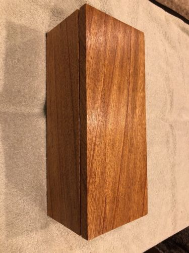 "Gorgeous 12"" Inch Solid Oak Homemade Jewelry Box. Seals Fantastic! You Must See!"