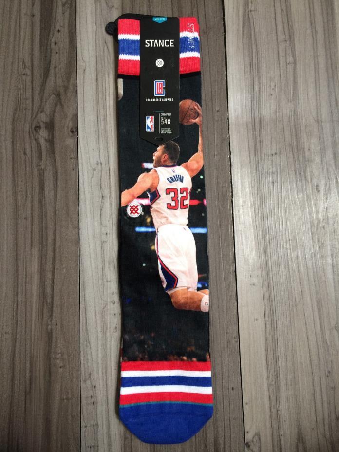 Stance NBA Blake GriffIn Men's Socks Size Large (9-12) NWT
