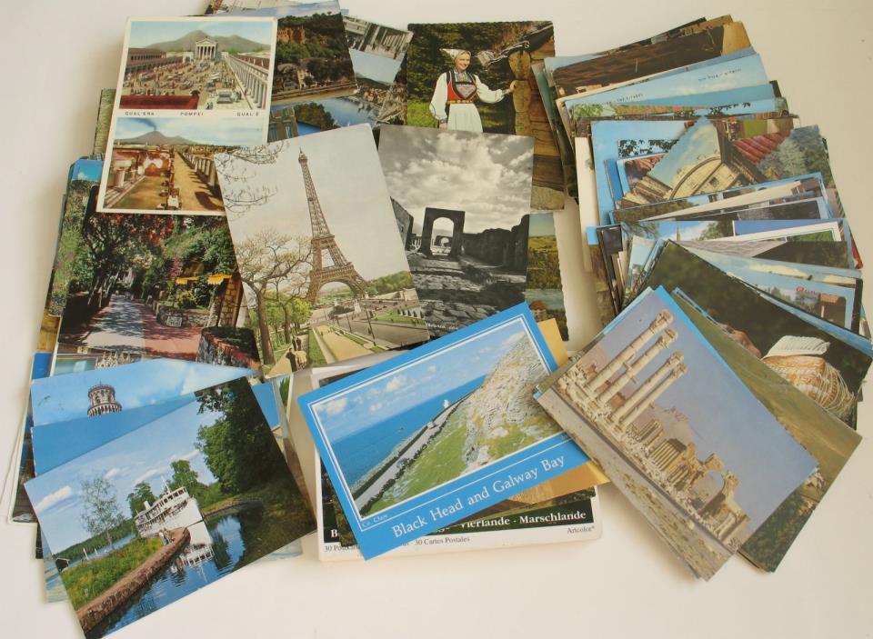 200+ Postcards Chrome Era Germany Ireland Switzerland Syria England 1955-2001